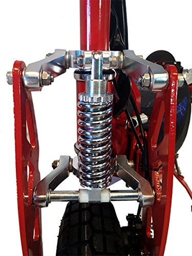Super Turbo 1000 Elite Suspension Electric Kids Scooters