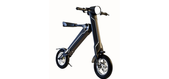 Review Ebyke Folding Electric Scooter Great For Kids