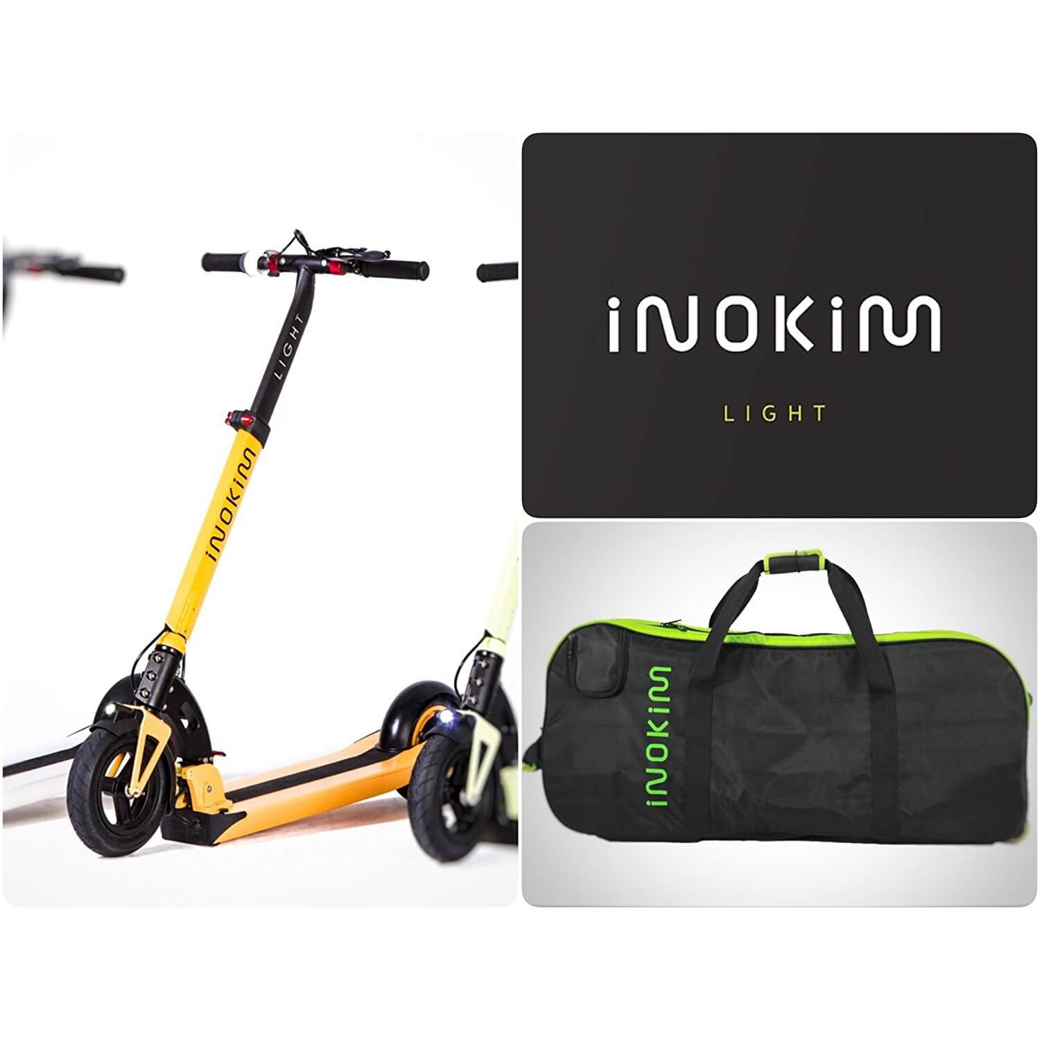 Inokim Light With Carry Bag Electric Kids Scooters