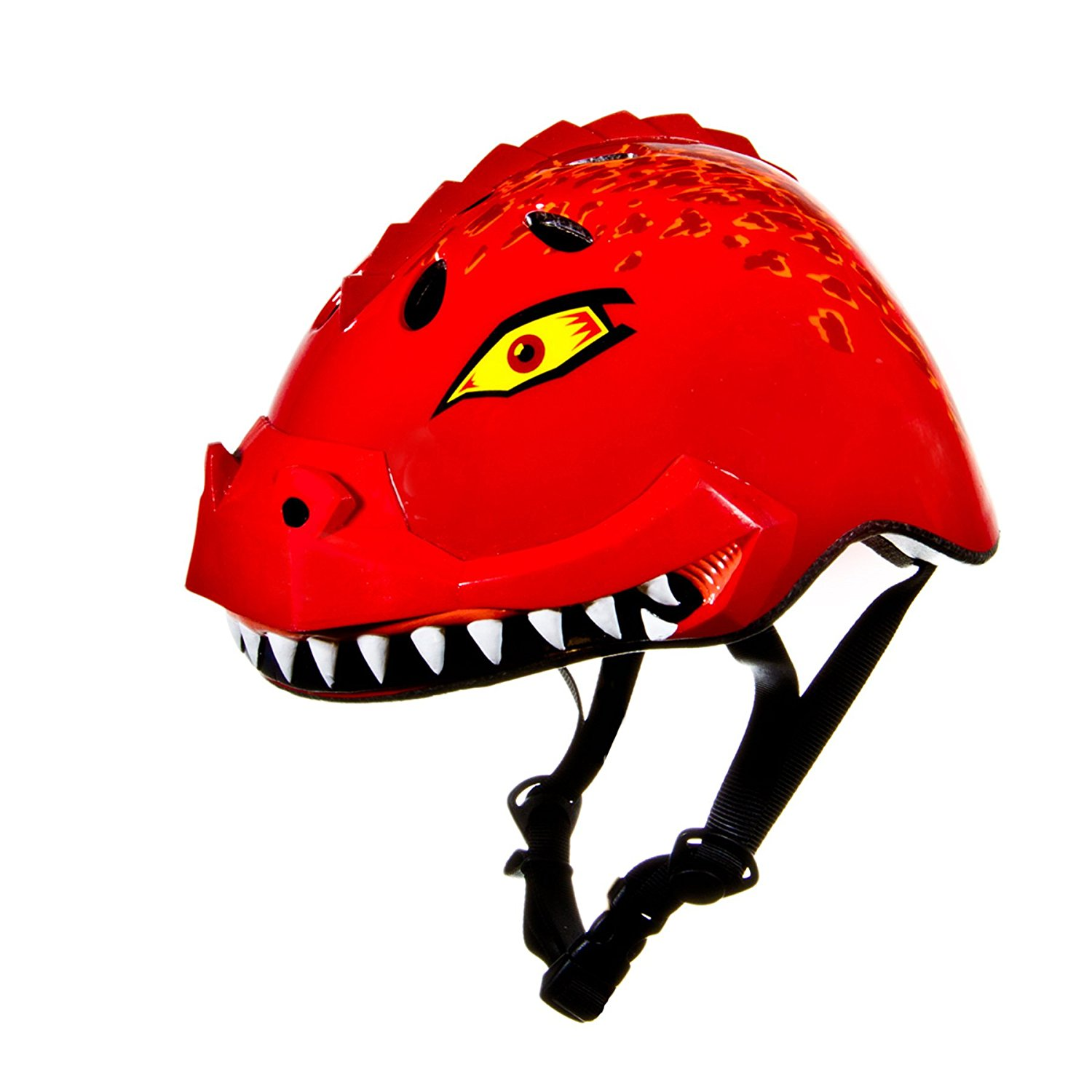 Raskullz Dinosaur Helmet Red Electric Kids Scooters