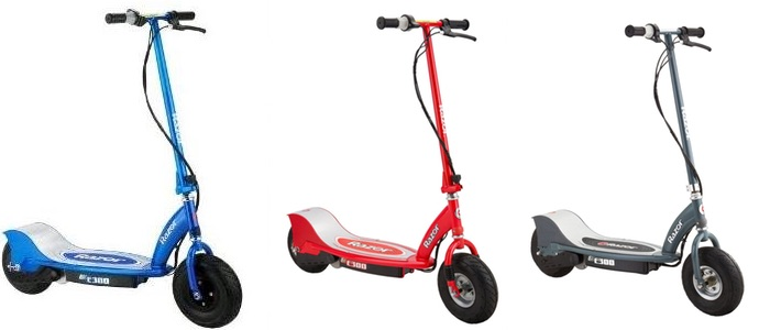 review razor e300 electric scooter electric kids scooters. Black Bedroom Furniture Sets. Home Design Ideas