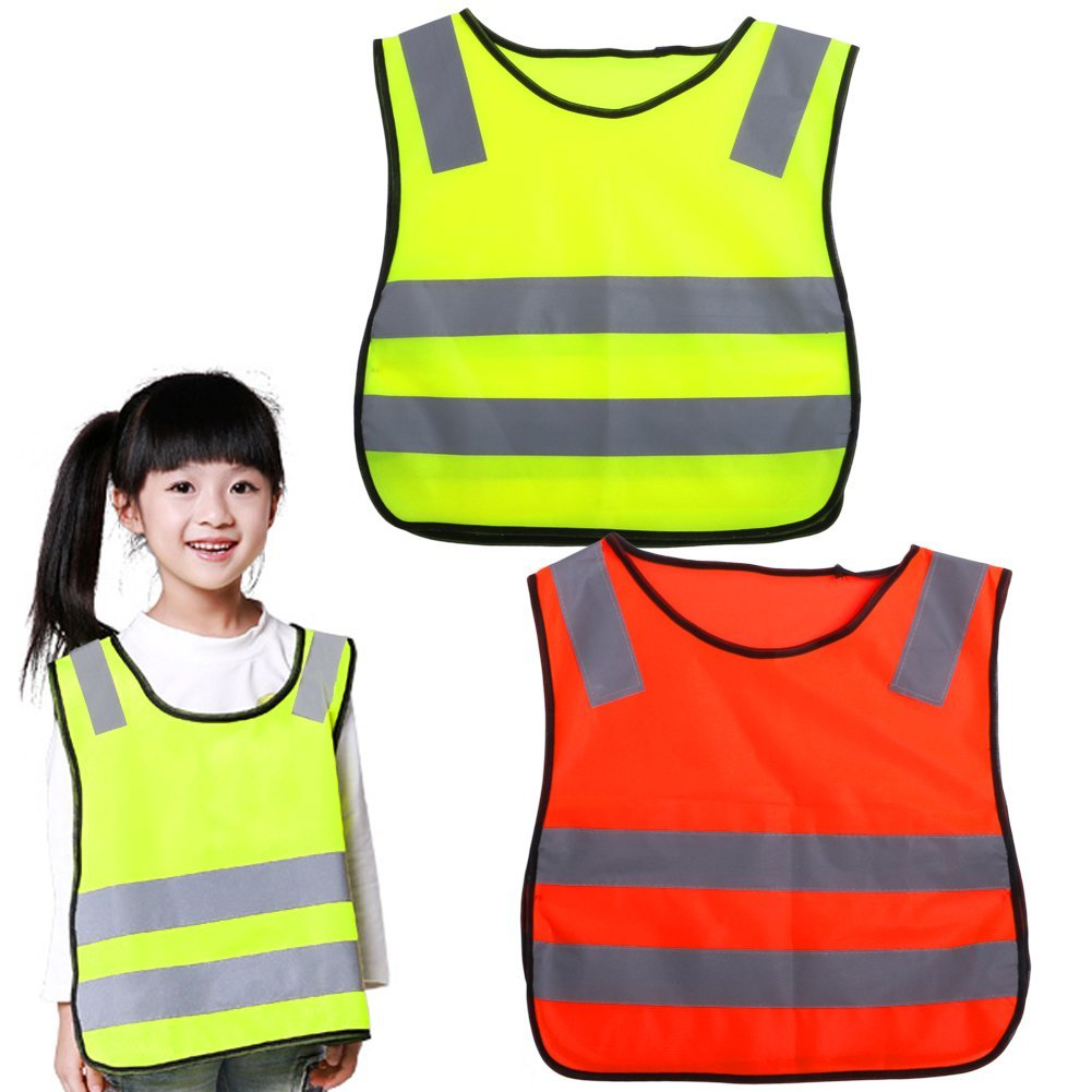 Reflective Vest Electric Kids Scooters