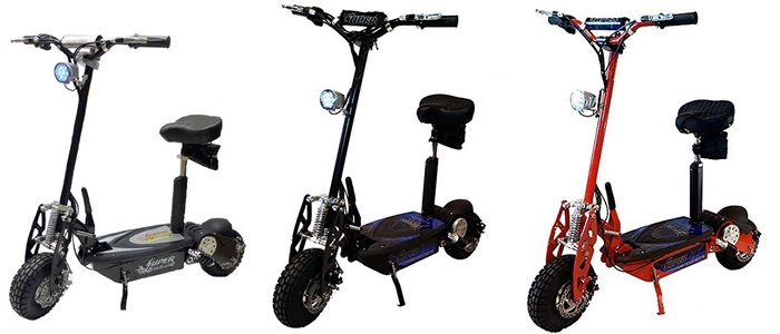 Super Turbo 1000W Electric Scooter Electric Kids Scooters