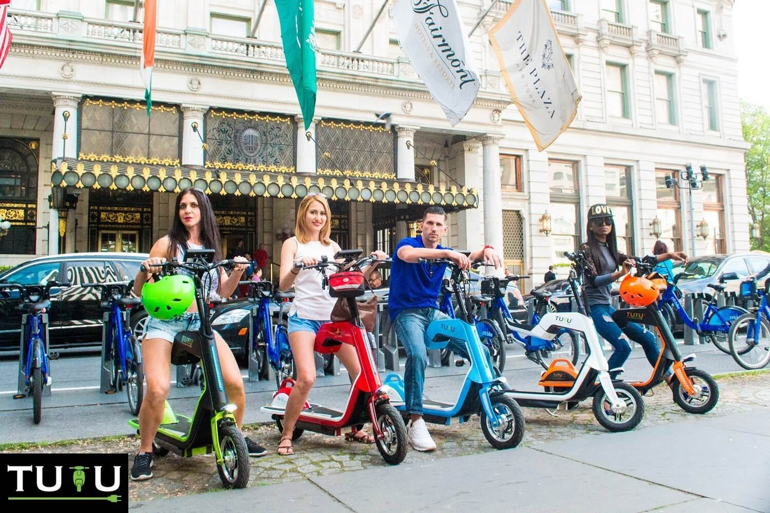 Tutu Electric Scooter Color Range Electric Kids Scooters