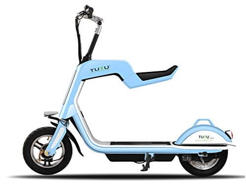 Tutu Electric Scooter With Folding Seat Electric Kids